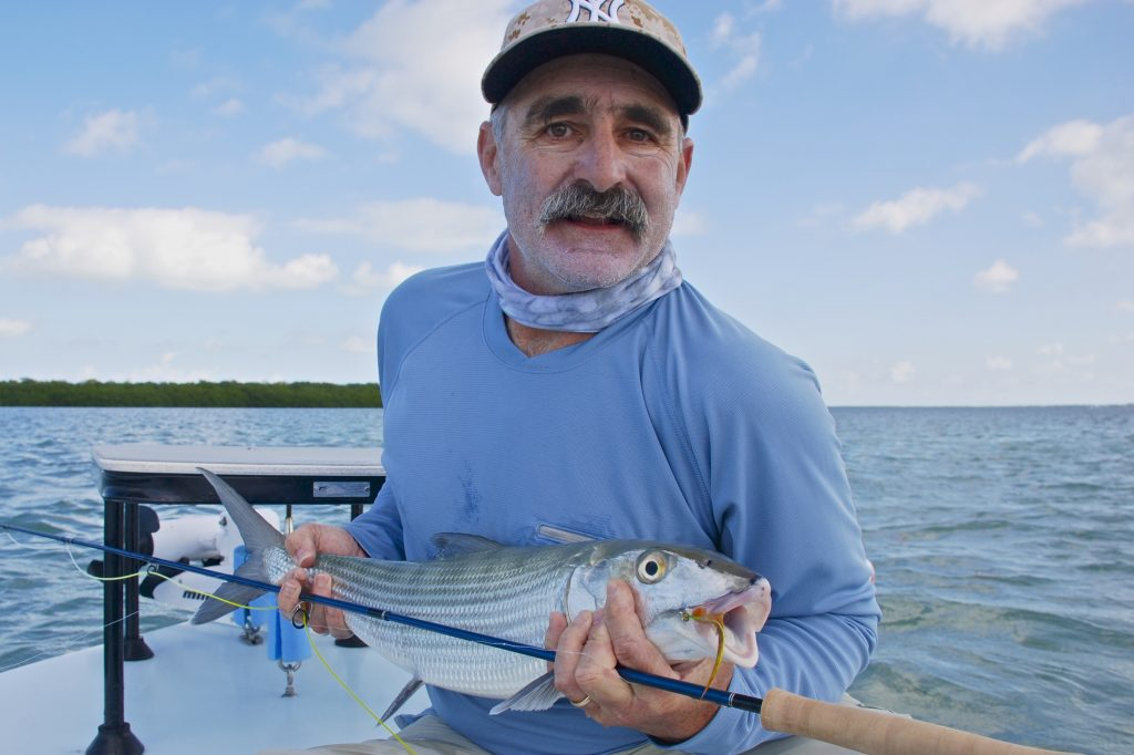 Typical Keys bonefish of 8-9 pounds