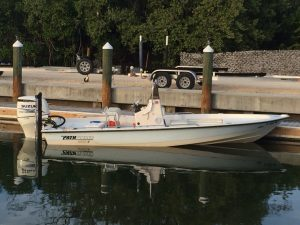 22' Pathfinder Bayboat with new 200hp 4-stroke Suzuki outboard engine
